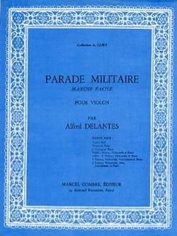 Alfred Delantes - Parade militaire - Partition - di-arezzo.fr