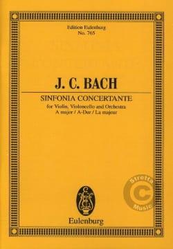 Johann Christian Bach - Sinfonia concertante A-Dur - Partition - di-arezzo.fr