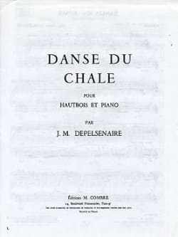 Jean-Marie Depelsenaire - Dance of the Shawl - Oboe and Piano - Sheet Music - di-arezzo.com