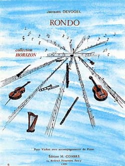 Rondo - Jacques Devogel - Partition - Violon - laflutedepan.com