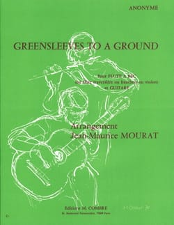 Jean-Maurice Mourat - Greensleeves to a Ground – Flûte à bec guitare - Partition - di-arezzo.fr
