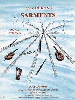 Pierre Durand - Sarments - Partition - di-arezzo.fr