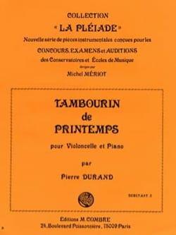 Pierre Durand - Tambourin de printemps - Partition - di-arezzo.fr