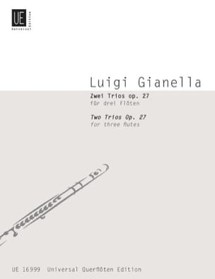 2 Trios op. 27 - 3 Flöten - Luigi Gianella - laflutedepan.com