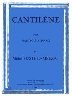 Michel Fusté-Lambezat - Cantilena - Sheet Music - di-arezzo.com