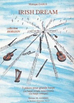 Irish Dream - 3 Pièces pour Harpe Monique Gabus Partition laflutedepan