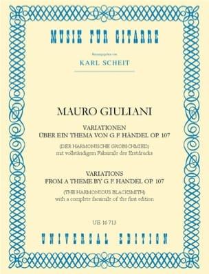 Variationen über ein Thema von Händel op. 107 laflutedepan