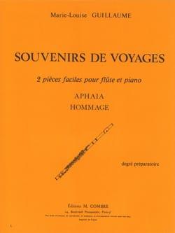 Marie-Louise Guillaume - Souvenirs de voyage - Partition - di-arezzo.fr