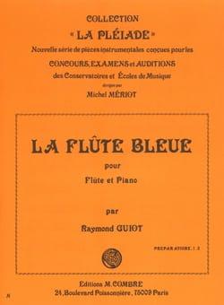 La Flûte bleue - Raymond Guiot - Partition - laflutedepan.com