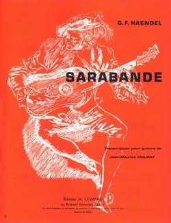 Sarabande - HAENDEL - Partition - Guitare - laflutedepan.com