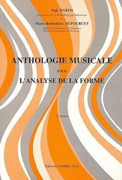 Hakim Naji / Dufourcet Marie-Bernadette - Anthologie musicale - Partition - di-arezzo.fr