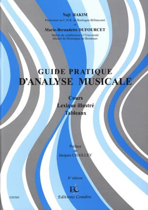 Hakim Naji / Dufourcet Marie-Bernadette - Practical Guide of Musical Analysis - Sheet Music - di-arezzo.co.uk