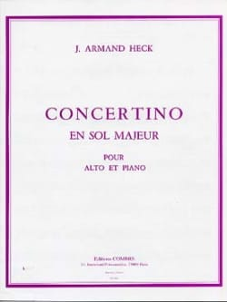 J. Armand Heck - Concertino in G major op. 40 - Sheet Music - di-arezzo.co.uk