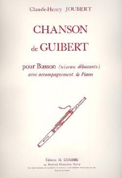 Chanson de Guibert - Claude-Henry Joubert - laflutedepan.com
