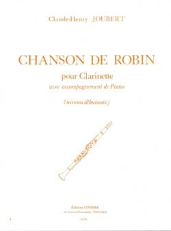 Claude-Henry Joubert - Robin's song - Sheet Music - di-arezzo.co.uk