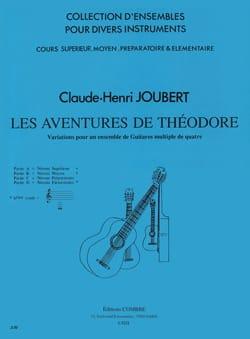 Claude-Henry Joubert - Les Aventures de Théodore - 4 Guitares (ou Multiple de 4) - Partition - di-arezzo.fr