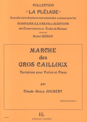Claude-Henry Joubert - Walk of the Big Pebbles - Sheet Music - di-arezzo.com