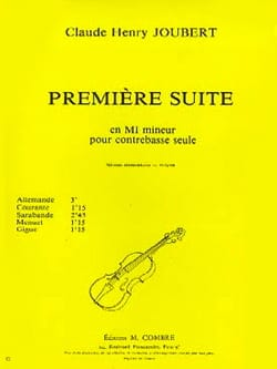 Claude-Henry Joubert - Suite n ° 1 in E minor - Sheet Music - di-arezzo.co.uk