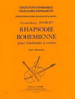 Claude-Henry Joubert - ラプソディー・ボヘミアン - String Orchestra - Elem。 - 楽譜 - di-arezzo.jp