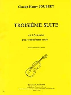 Claude-Henry Joubert - Suite n ° 3 in A minor - Sheet Music - di-arezzo.com