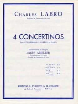 Charles Labro - Concertino en ré mineur et ré majeur op. 31 - Partition - di-arezzo.fr