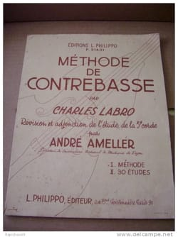 Charles Labro - Méthode de Contrebasse - Partition - di-arezzo.fr