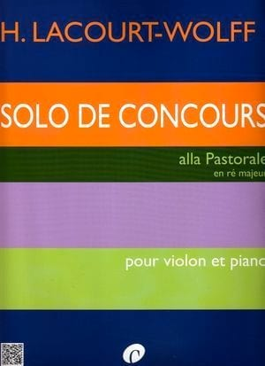 H. Lacourt-Wolff - Solo of Competition - Sheet Music - di-arezzo.com