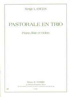 Serge Lancen - Pastorale en trio - Partition - di-arezzo.fr