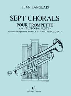 Jean Langlais - 7 Chorals - Partition - di-arezzo.fr