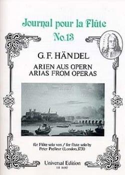 Arien Aus Opern HAENDEL Partition Flûte traversière - laflutedepan