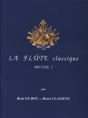 Le Roy René / Classens Henri - The Flute Classic Volume 2 - Partitura - di-arezzo.it