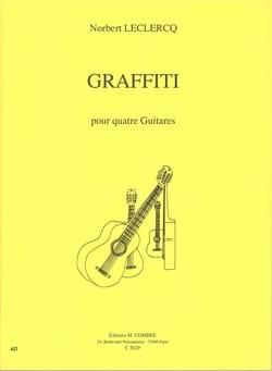 Graffiti Pour Quatre Guitares - Norbert Leclercq - laflutedepan.com