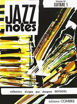 Christophe Leu - Jazz Notes Volume 1 - Partition - di-arezzo.fr