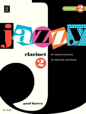Jazzy Clarinet 2 Paul Harvey Partition Clarinette - laflutedepan