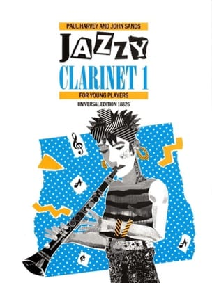 Harvey Paul / Sands John - Jazzy Clarinet 1 - Partition - di-arezzo.fr