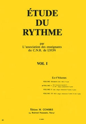 de Lyon C.N.R. - Study of the Rhythm Volume 1 - Sheet Music - di-arezzo.co.uk