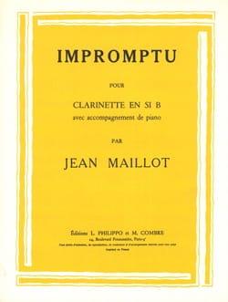 Jean Maillot - Impromptu - Partition - di-arezzo.fr