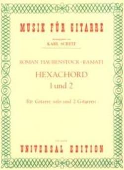 Roman Haubenstock-Ramati - Hexachord 1 und 2 -Gitarre solo u. 2 Gitarren - Partition - di-arezzo.fr