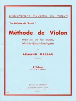 Armand Massau - Méthode de Violon Volume 5 - Partition - di-arezzo.fr