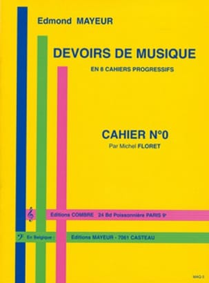 Edmond Mayeur - Duties of music n ° 0 - Sheet Music - di-arezzo.co.uk