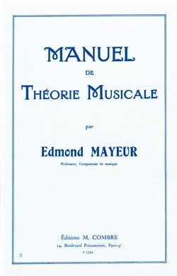 Edmond Mayeur - Manual de Teoría de la Música - Partitura - di-arezzo.es