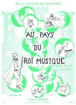 de Chamisso Olivier Mayran - Au pays du Roi Musique - Volume 2 - Partition - di-arezzo.fr