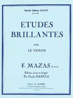 Jacques Féréol Mazas - Etudes brillantes op. 36 n° 2 - Partition - di-arezzo.fr