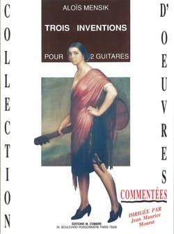 Aloïs Mensik - Trois inventions - Partition - di-arezzo.fr