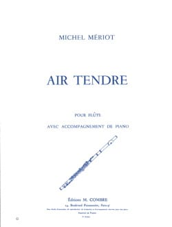 Michel Mériot - Air tendre - Partition - di-arezzo.fr
