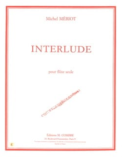 Michel Mériot - interludio - Partitura - di-arezzo.es
