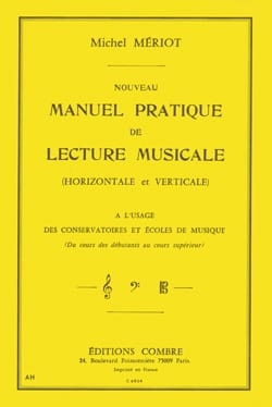 Michel Mériot - New practical manual of musical reading - Partition - di-arezzo.com