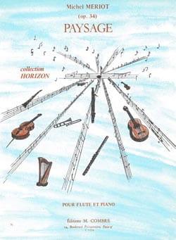 Michel Mériot - Paysage op. 34 - Partition - di-arezzo.fr
