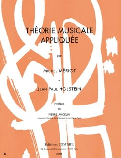 Mériot Michel / Holstein Jean-Paul - Applied music theory - Sheet Music - di-arezzo.co.uk