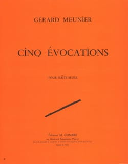 Gérard Meunier - 5 Evocations - Partition - di-arezzo.fr